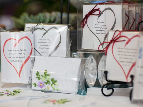 Gifts That Care handkerchief gift sets for sale at
