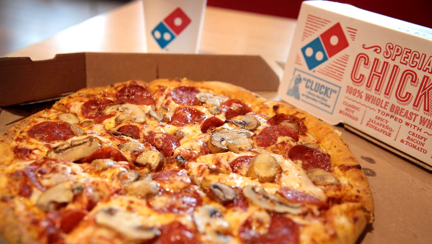 Domino's pizza chain now biggest in the world