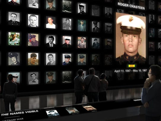 A larger-than-life digital Wall of Faces is planned