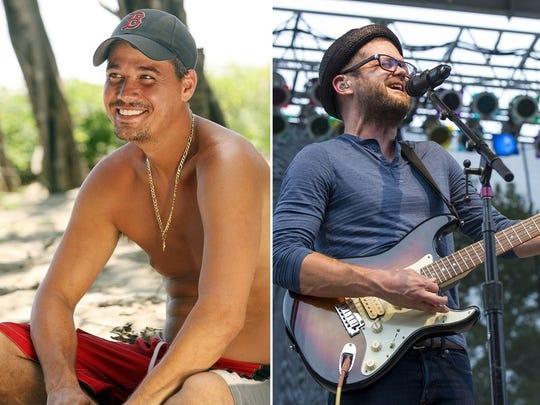 """""""Boston Rob"""" Mariano, left, won """"Survivor: Redemption Island"""" in 2011. Josh Kaufman won """"The Voice"""" in 2014."""