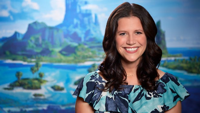 Amy Smeed, who shares the head of animation title on Disney's 'Moana'
