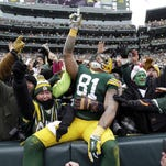 Green Bay ranked No. 1 for football fans
