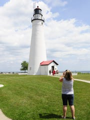 The Fort Gratiot Lighthouse is being featured by Pure Michigan for National Lighthouse Day.