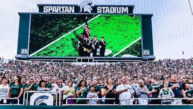 Fans are expected back in Spartan Stadium next month for MSU's six-game home schedule.