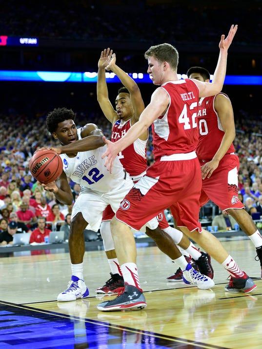 NCAA Basketball: NCAA Tournament-South Regional-Duke vs Utah
