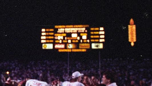 Florida State will bring the Spirit Spear back on the Jumbotron at next month's Garnet and Gold Spring Game