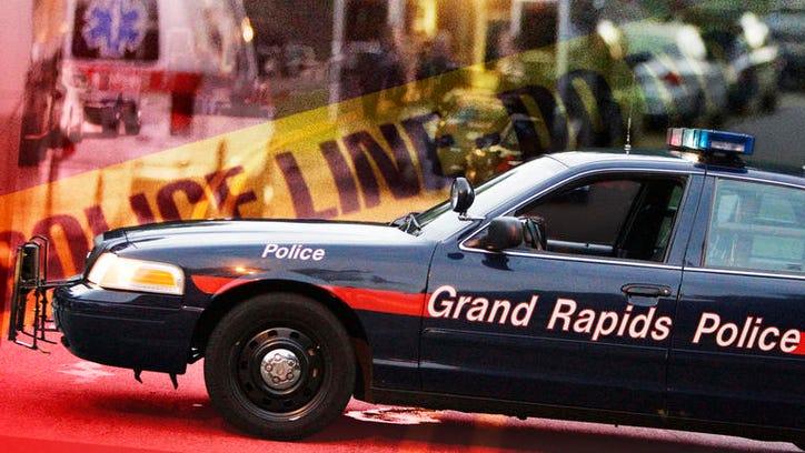 Grand Rapids Police squad car.