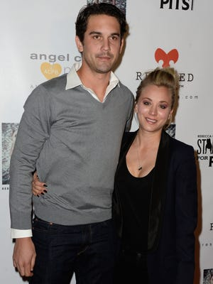 Ryan Sweeting and Kaley Cuoco on Nov. 3 in L.A.