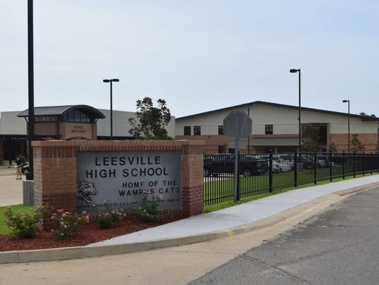 ANI Updated Leesville High New classrooms and buildings at Leesville High School were being utilized Tuesday, Aug. 11, 2015, the first day of school in Vernon Parish. -Melinda Martinez/The Town Talk