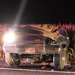 Three teens were injured in a rollover crash early Sept. 14, 2014, in a rural area between Boise and Nampa, Idaho, when a 16-year-old playing with a lighter set the driver's armpit hair on fire. Five teens were in the SUV.