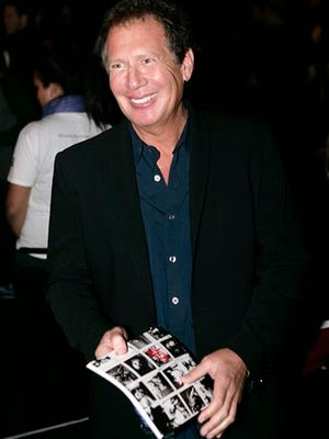 """FILE - In this Oct. 17, 2006 file photo, actor Gary Shandling poses for photographers before the Jennifer Nicholson fashion show during Mercedes Benz Fashion Week in Culver City, Calif. Shandling, who as an actor and comedian pioneered a pretend brand of self-focused docudrama with """"The Larry Sanders Show,"""" died, Thursday, March 24, 2016 of an undisclosed cause in Los Angeles. He was 66. (AP Photo/Matt Sayles, File)"""