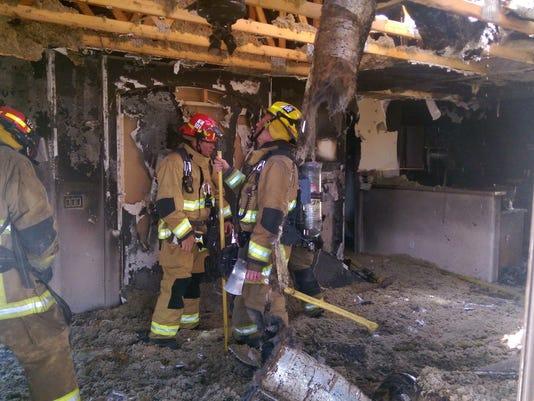 Goodyear house fire