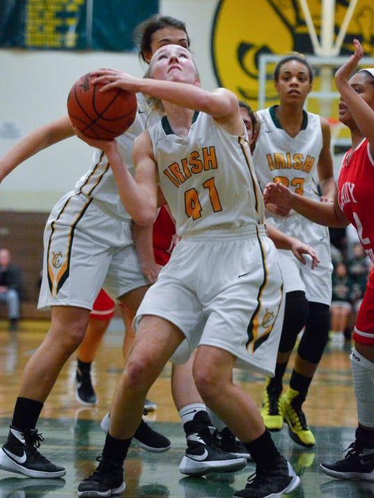 PHOTOS: Susquehanna Township vs York Catholic girls basketball