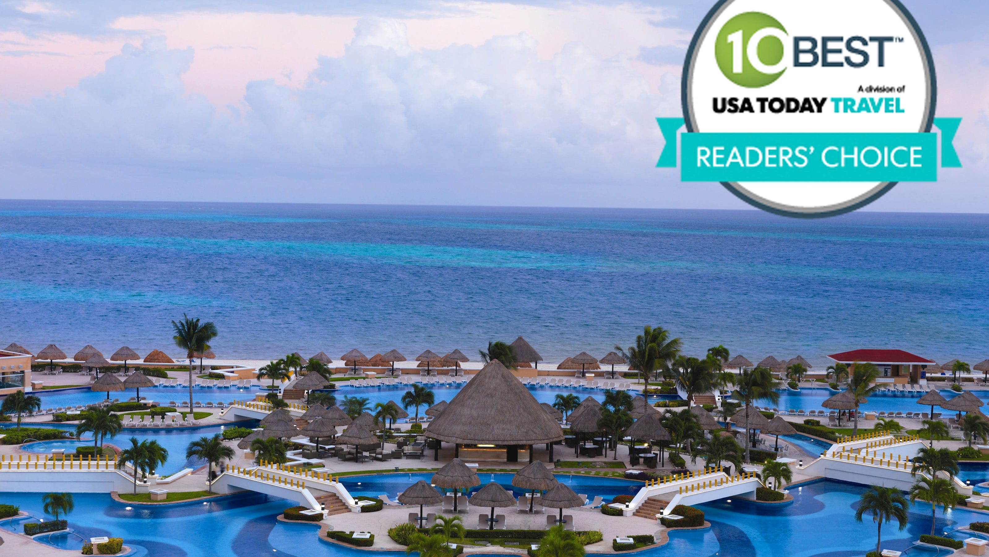 Best all inclusive resorts readers 39 choice award winners for Best all inclusive resorts for your money