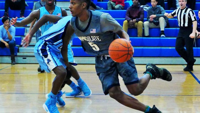 Jalen Carey had 37 points for Immaculate Conception in a loss to Roselle Catholic.