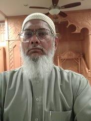 Imam Raouf Zaman heads the Muslim Center of Middlesex