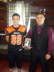 Robert Maldonado (left) and his younger brother, Tyler,