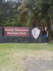 Sheboygan Falls alumni Kirsten Schmidt natural resources passion led her to work on a US Park Service invasive species project in Hawaii.