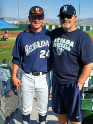 Don Nowaczewski, right, went to all of his sons games