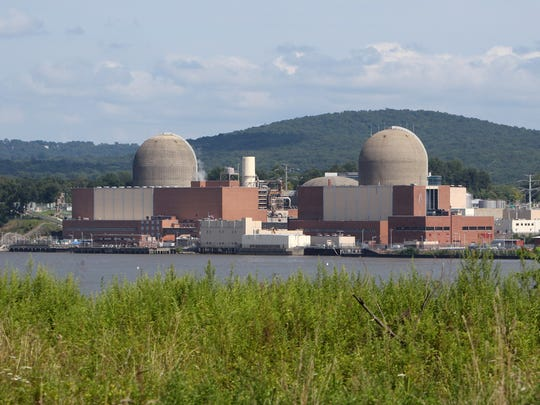 The Indian Point nuclear power plant in Buchanan, as