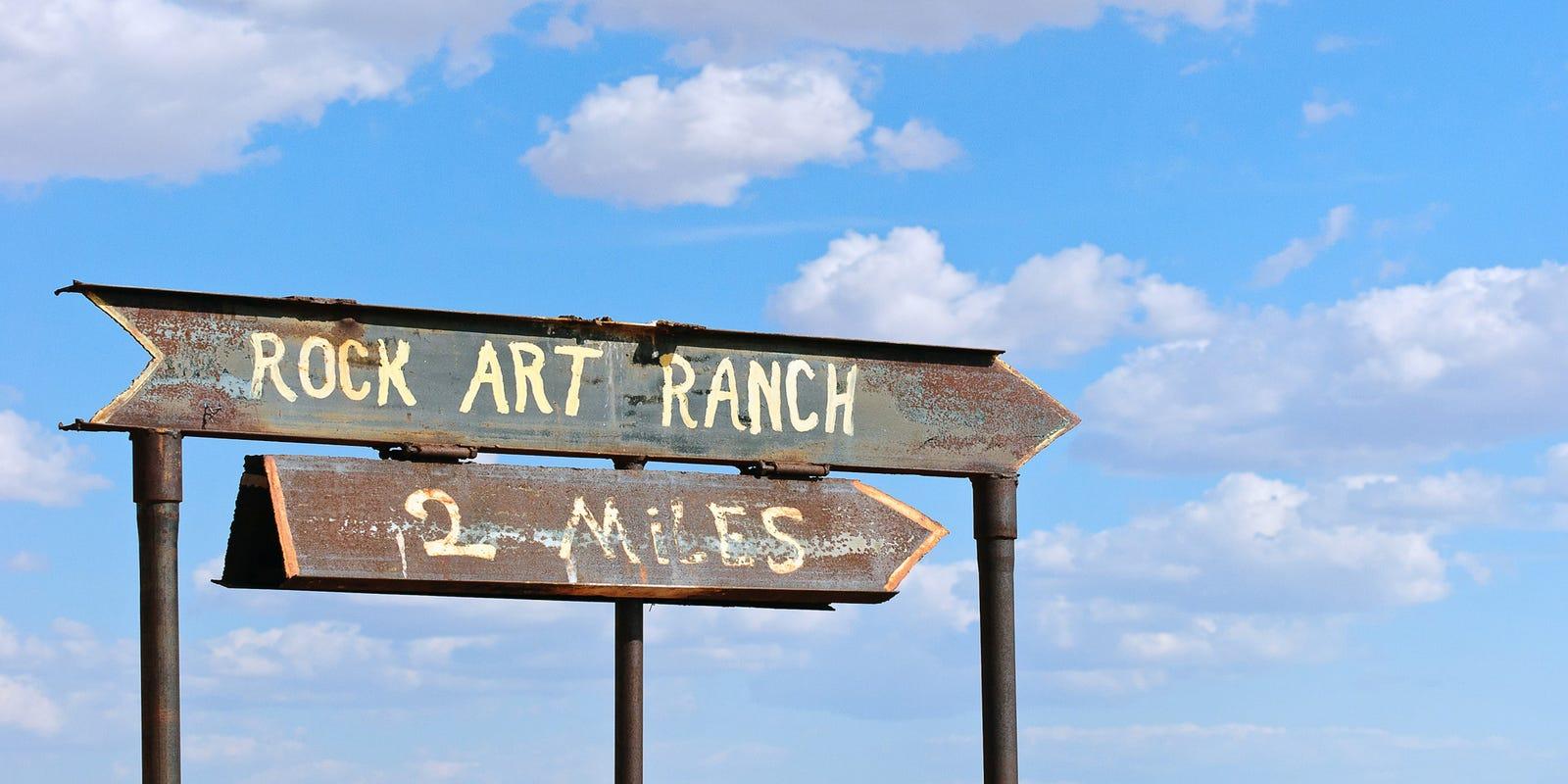 Rock Art Ranch Arizona petroglyph site