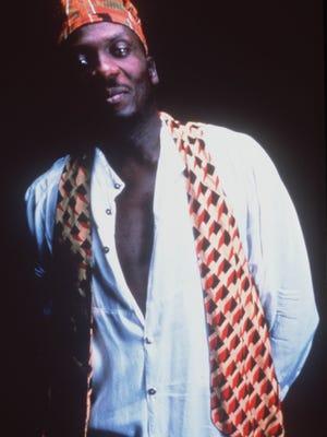 Reggae giant Jimmy Cliff around 2000.
