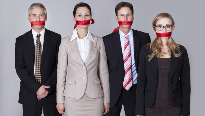 Legislature should stop gagging people