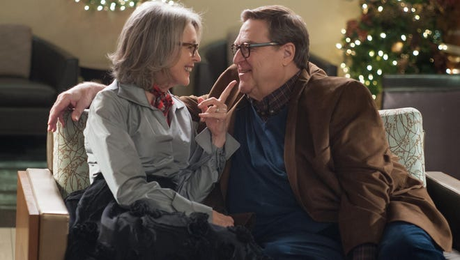 "Diane Keaton and John Goodman star in ""Love the Coopers."""