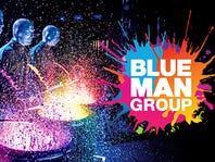 Enter to win tickets to see Blue Man Group