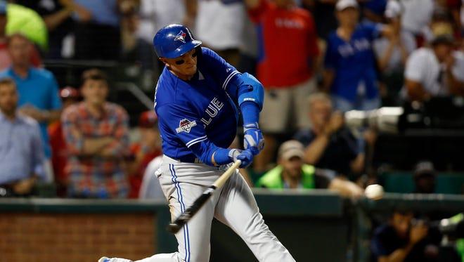 Troy Tulowitzki smashes a three-run home run in the sixth inning.