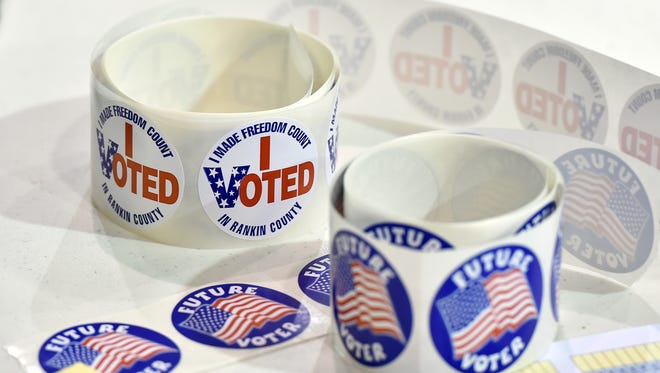 Polls are open from 7 a.m. to 7 p.m. Tuesday.