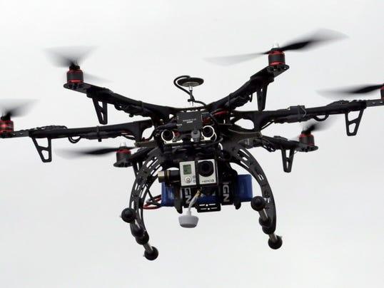 AP DRONES NEAR COLLISIONS A FILE USA UT