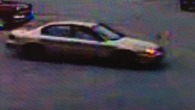 Asheville police are searching for a suspect involved in a February 6 hit and run accident. They believe he is driving a gold four door vehicle.