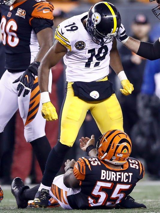 ***BESTPIX*** Pittsburgh Steelers v Cincinnati Bengals