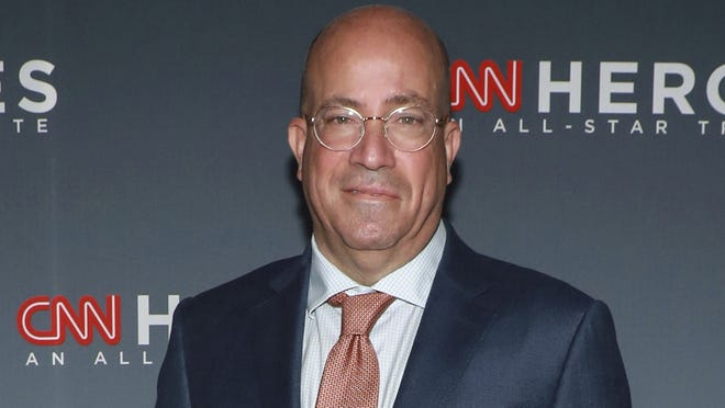"CNN chief executive Jeff Zucker says viewers have come to CNN for the news coverage, while the network's rivals are more about ""political talk."""