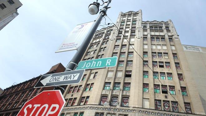 The Metropolitan building at 1509 Broadway in Detroit.