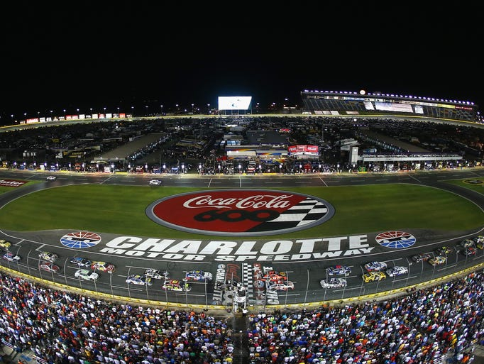 2017 monster energy nascar cup series schedule for Nascar ride along charlotte motor speedway