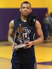 Tyson Kent lived up to his billing as the No. 1 draft pick for the 39th News Journal Classic by winning MVP honors. The All-Ohio point guard is enrolling in the New York International Academy for a season of prep school basketball before embarking on his college career.