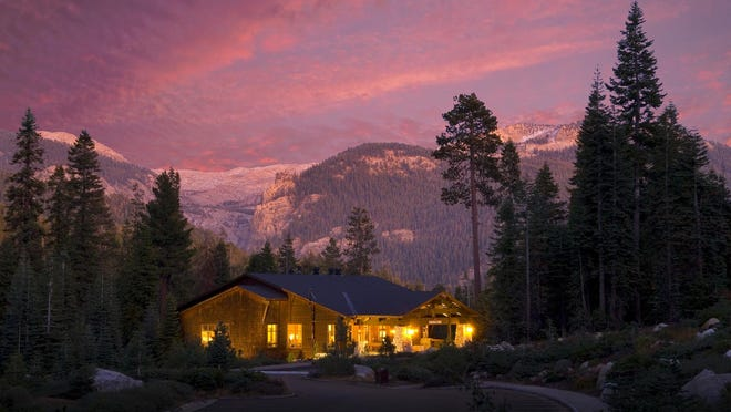Wuksachi Lodge is shown in Sequoia National Park.