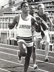"Johnny ""Lam"" Jones, from Lampasas High School, had a 1976 track season to remember. In addition to helping his school win the team title at the UIL Texas state track meet, he went on to win an Olympic gold medal that summer at the age of 18."