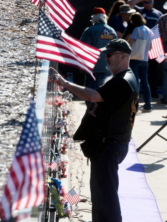 Veterans Day-Wall South