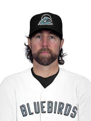 R.A. Dickey is a member of the Nashville Bluebirds,