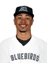 Mookie Betts is a member of the Nashville Bluebirds, the ultimate fantasy baseball team.