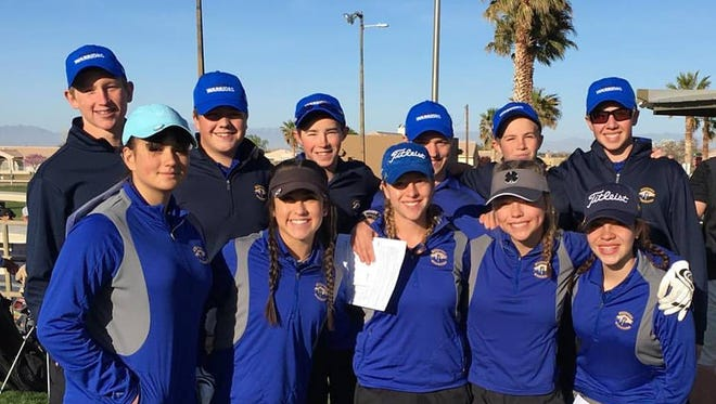 Ruidoso High School golfers are ready to show their stuff on the course this season. The teams host the Great 8 Tournament Friday at the Links at Sierra Blanca.