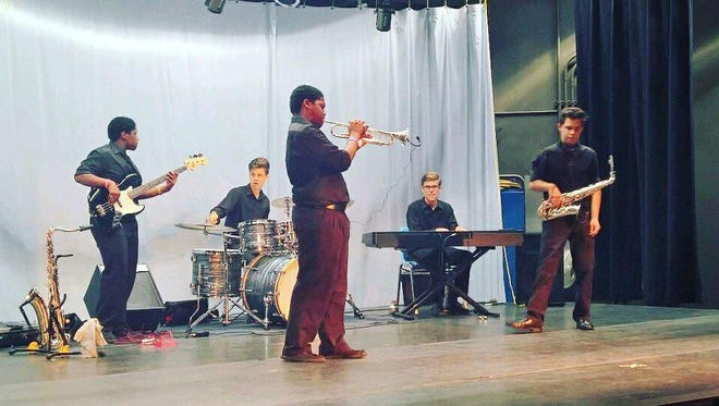 Soul Station, a band featuring Washington High students, will perform at the June 16, 2017, Gallery Night.