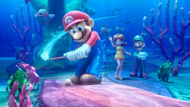 """""""Mario Golf: World Tour"""" features unique golf course that you would never see in real life."""
