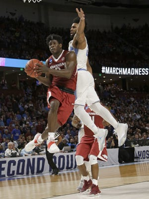When Arkansas guard Jaylen Barford was a senior at South Side, the Hawks won state and he was named All-West Tennessee Player of the Year.