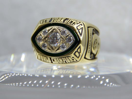 Super Bowl III ring: The New York Jets beat the Baltimore