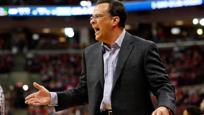 Gregg Doyel asks: If the IU fan base is this done with Tom Crean's basketball program, so done that the school is willingly sacrificing revenue by sending its bad road team onto the road, how can Tom Crean continue to stay?