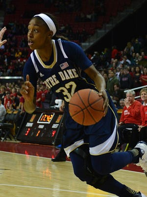 Jewell Loyd scored a game-high 31 points for Notre Dame.